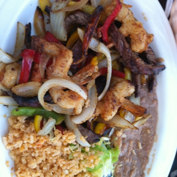 Steak And Shrimp Fajitas - El Charro - Livermore, Livermore, CA