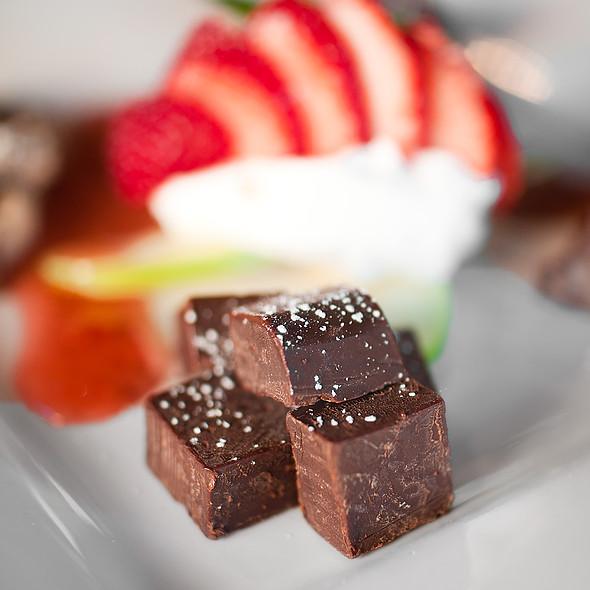 Chocolate Tasting Plate - Back Bistro, Folsom, CA