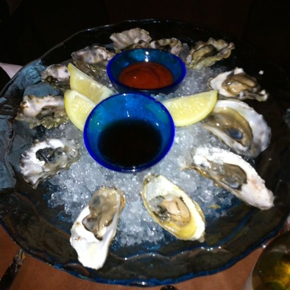 Oysters on the Half Shell - Jay's Bistro, Fort Collins, CO