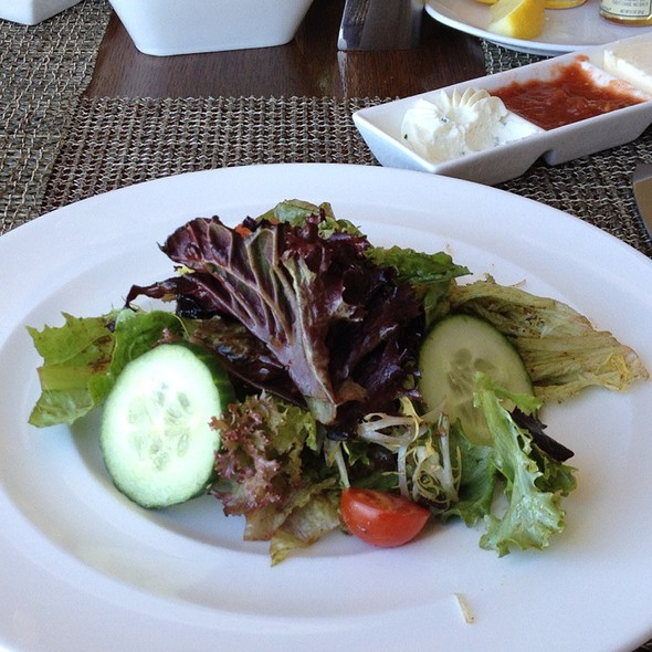 Side Salad With Spicy Balsamic Vinegrette - RAYA at The Ritz-Carlton, Laguna Niguel, Dana Point, CA