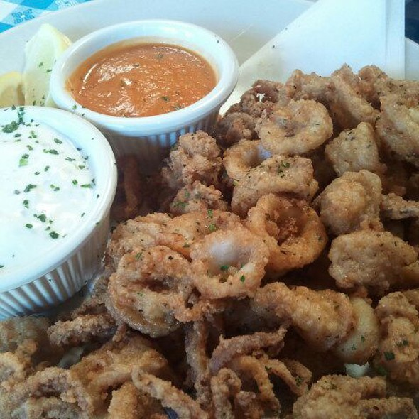 Fried Calamari - George's Greek Cafe - Belmont Shore, Long Beach, CA