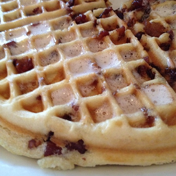 Bacon waffle - Blue Star Cafe and Pub, Seattle, WA