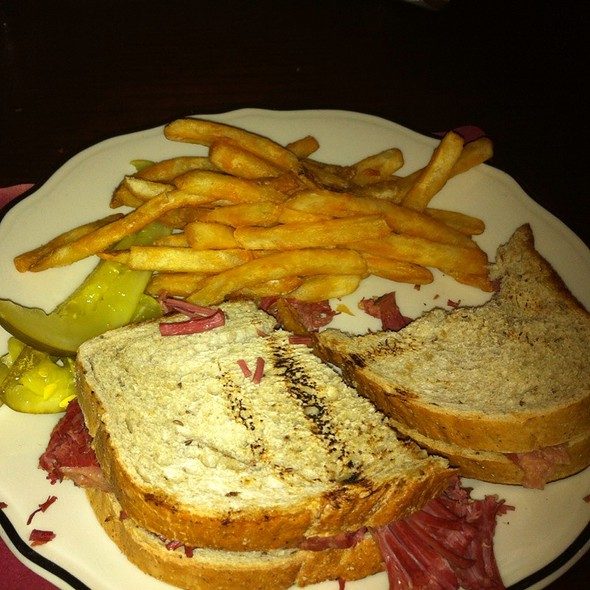 Hot Corned Beef Sandwich  - Durgin Park, Boston, MA