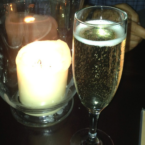 Champagne Cocktail - George's in the Grove, Coconut Grove, FL