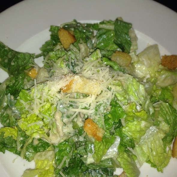 Hearts Of Romaine With Parmesan And Croutons - George's in the Grove, Coconut Grove, FL