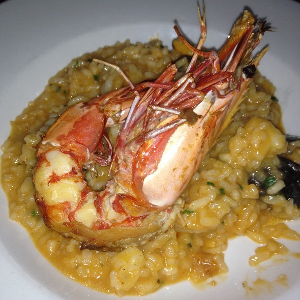 Seafood Risotto - George's in the Grove, Coconut Grove, FL