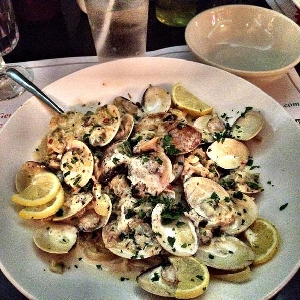 Fettucine W/ Clam Sauce - Iaria's Italian Restaurant, Indianapolis, IN