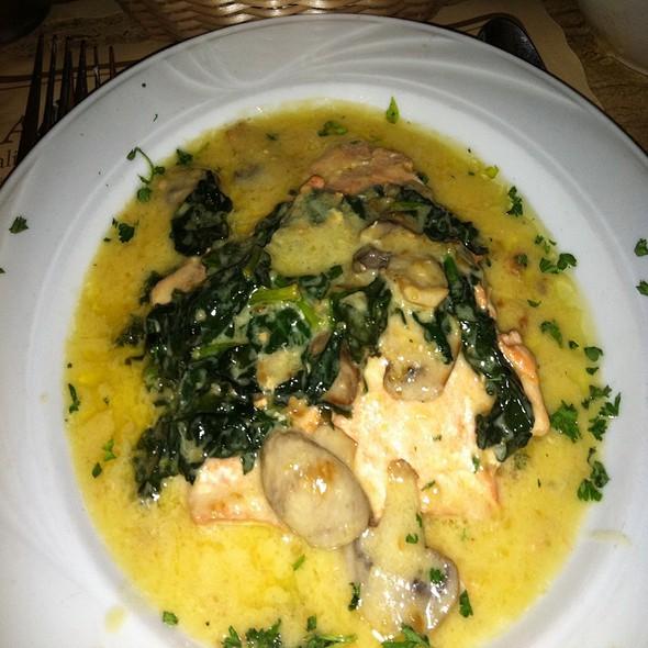 Salmon Limoncello - Ralph's Italian Restaurant, Philadelphia, PA