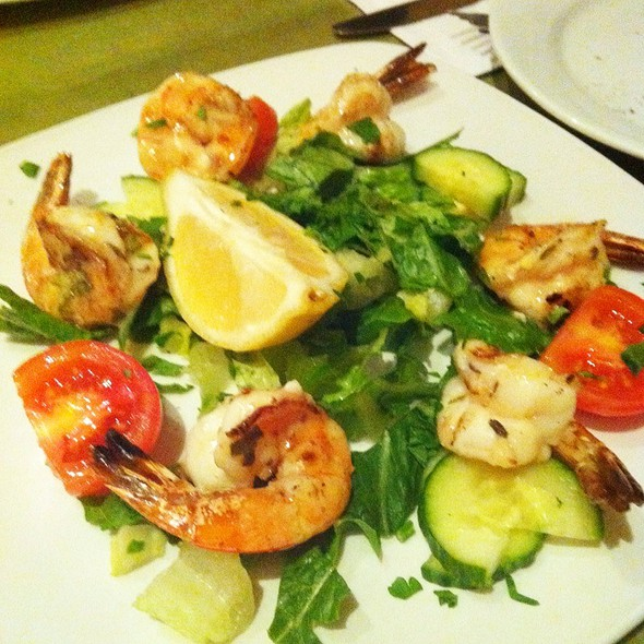 shrimp salad - Telio, New York, NY