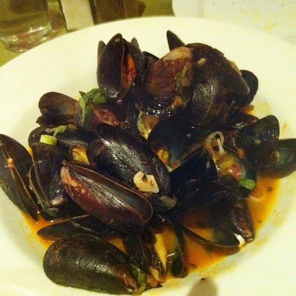 Steamed Mussels - Telio, New York, NY
