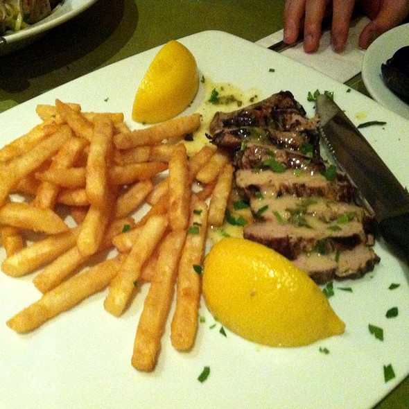 Pork Chop with French Fries - Telio, New York, NY