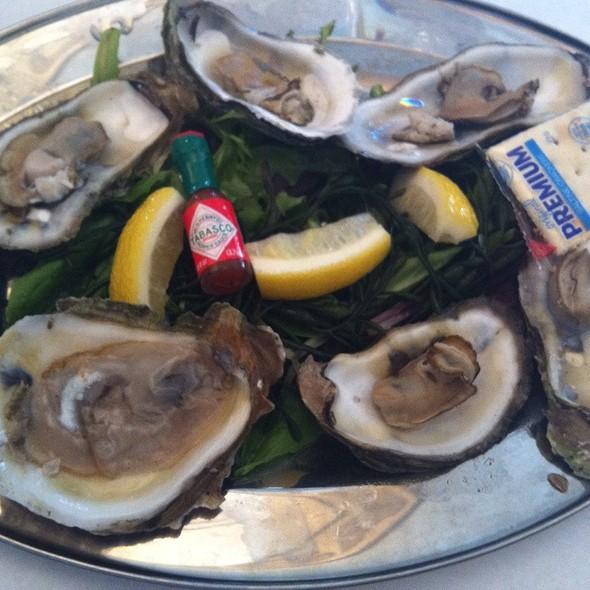 Oysters - Timpano Italian Chophouse - Tampa, Tampa, FL