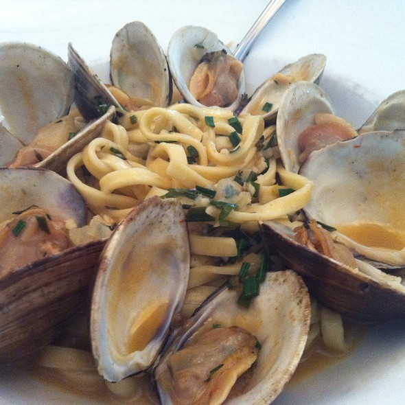 Fresh Clam Linguini W White Sauce - Timpano Italian Chophouse - Tampa, Tampa, FL