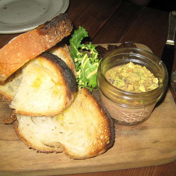 Chicken Liver Mousse - Vinegar Hill House, Brooklyn, NY