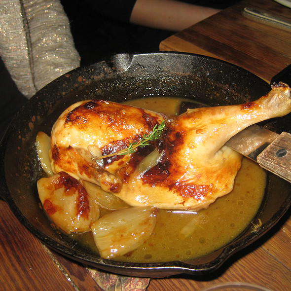 Cast Iron Chicken - Vinegar Hill House, Brooklyn, NY
