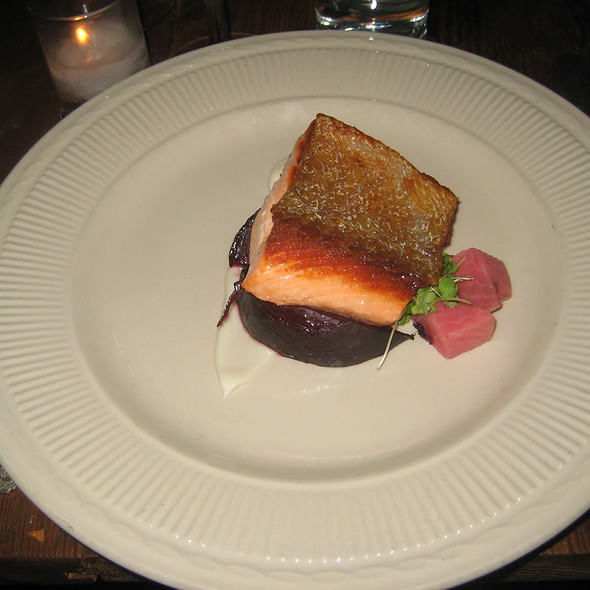 Steelhead Trout - Vinegar Hill House, Brooklyn, NY