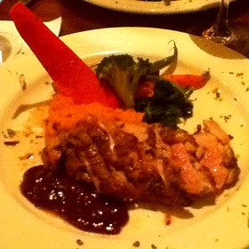 Duck With Mashed Sweet Potates And Honey - The Gamekeeper, Boone, NC