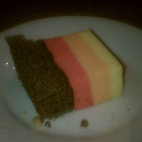 Jello Sour Cream Cake  - Red Apple Buffet - Avondale, Chicago, IL