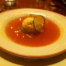 Tortilla Soup - La Plazuela at La Fonda on the Plaza, Santa Fe, NM