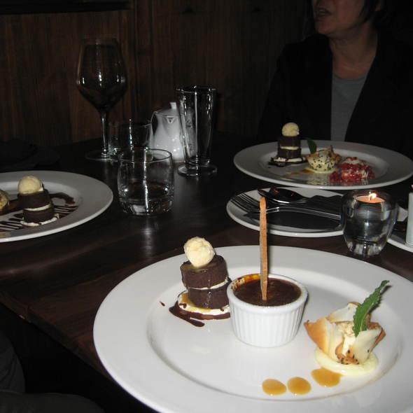 Dessert Trio - Veneto Tapa Lounge - Hotel Rialto, Victoria, BC