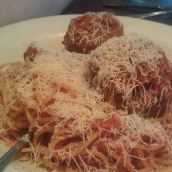 Speghetti And Meatballs - Graziano's - Chicago, Niles, IL