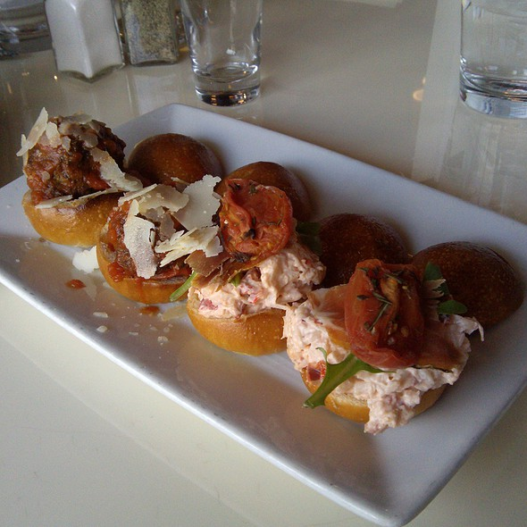 Meatball & Lobster Sliders - Novita Wine Bar Trattoria - Garden City, Garden City, NY