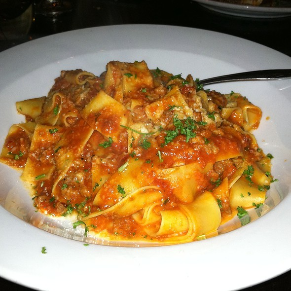 Pappardelle And Sausage Bolognese - LaScala's - Philadelphia, Philadelphia, PA