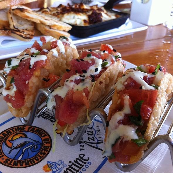 Ahi Poke Tacos - Brigantine Del Mar, Del Mar, CA