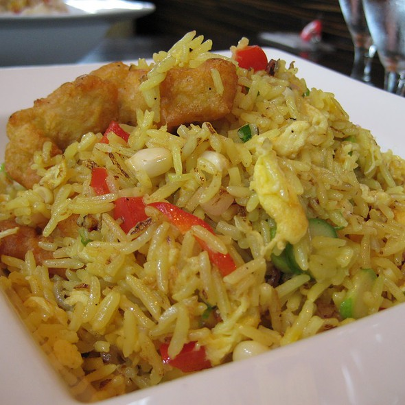Curried Chicken Fried Rice - Nectar - Philadelphia, Berwyn, PA