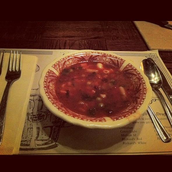 Minestrone Soup - The Old Spaghetti Factory - Toronto, Toronto, ON