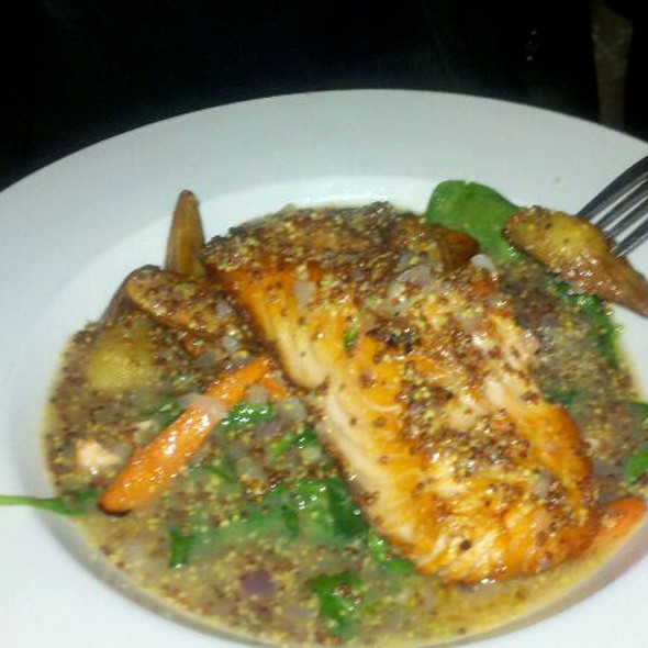 Pan Seared Atlantic Salmon - Gaetano's, Denver, CO