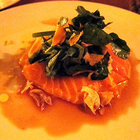 Salmon Belly Carpaccio - Catch New York, New York, NY