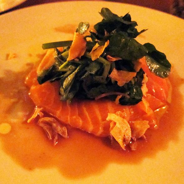 Salmon Belly Carpaccio - Catch New York, New York, NY