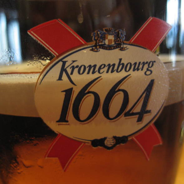 Kronenbourg 1664 Beer - The Beach House, West Vancouver, BC