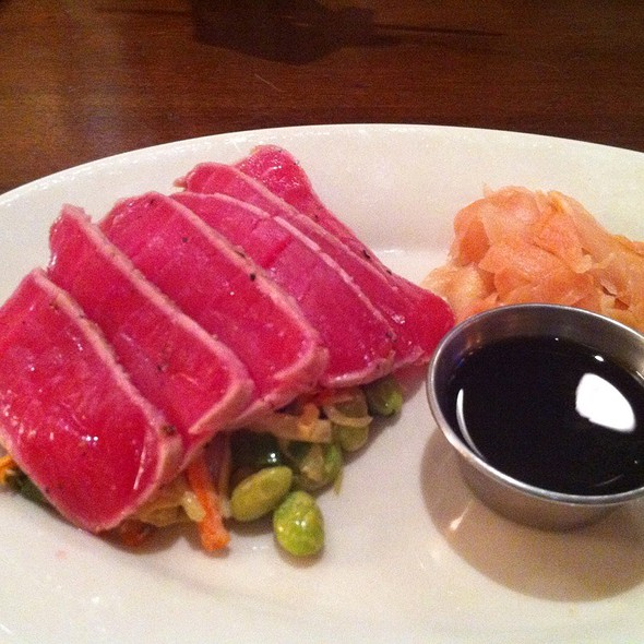 Seared Ahi Tuna - Rock Bottom Brewery Restaurant - Milwaukee, Milwaukee, WI