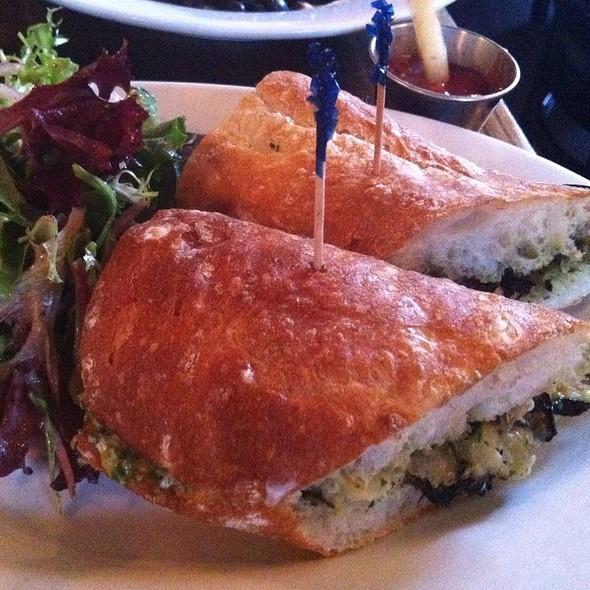 Vegitable Sandwich - Cafe Argentino, New York, NY