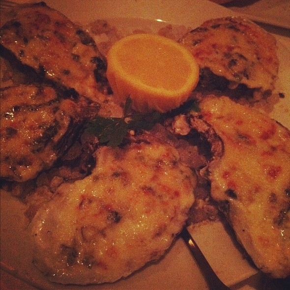Broiled Oysters - Eddie V's - City Centre, Houston, TX