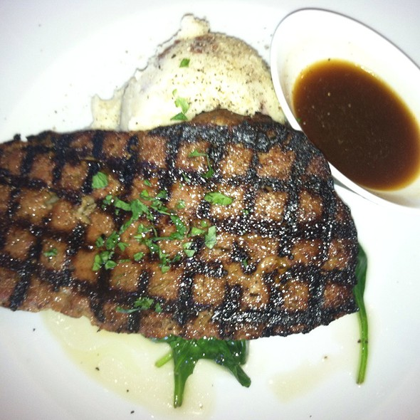 Grilled Meatloaf With Mashed Red Potatoes - 18 Seaboard, Raleigh, NC