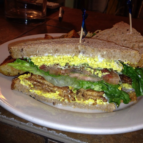 Eggless Egg Salad Sandwich - Organic Grill, New York, NY