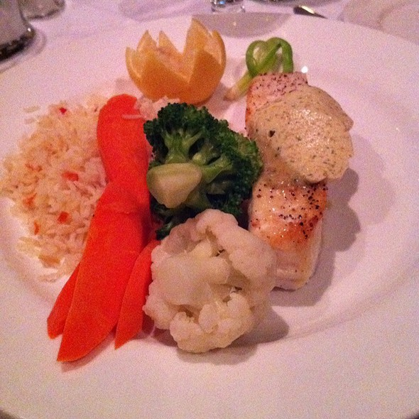 Baked Halibut - Hy's Steak House - Ottawa, Ottawa, ON