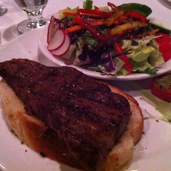 Steak Sandwich - Hy's Steak House - Ottawa, Ottawa, ON