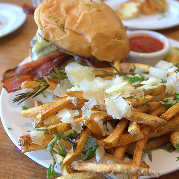 Fresh Herb Fries - The Porch Restaurant & Bar - Sacramento, Sacramento, CA