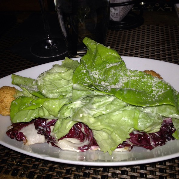 Caesar Salad With Crispy Ricotta Polpette - Bricco, Boston, MA