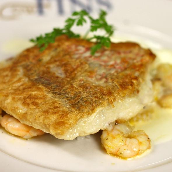 Sautéed American Red Snapper with shrimp etouffée, Louisiana Jasmine rice, lobster butter    - GW Fins, New Orleans, LA