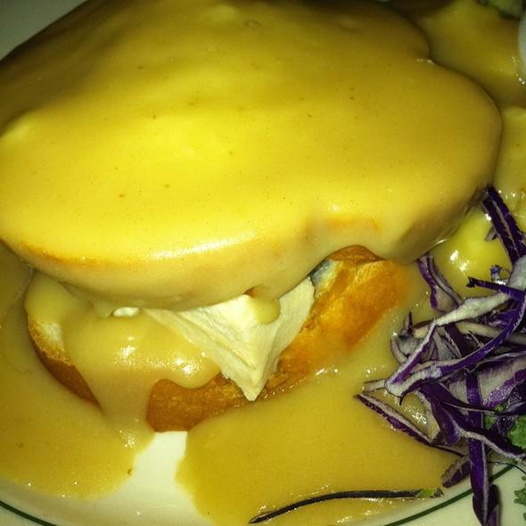 Hot Turkey Sandwich Open Face - Huber's Restaurant, Portland, OR