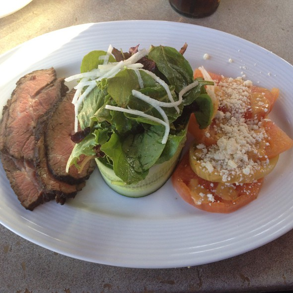 Sliced Tritip Salad - Jackalope Ranch, Indio, CA