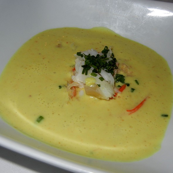 King Crab Curry Soup - Crow's Nest - Hotel Captain Cook, Anchorage, AK