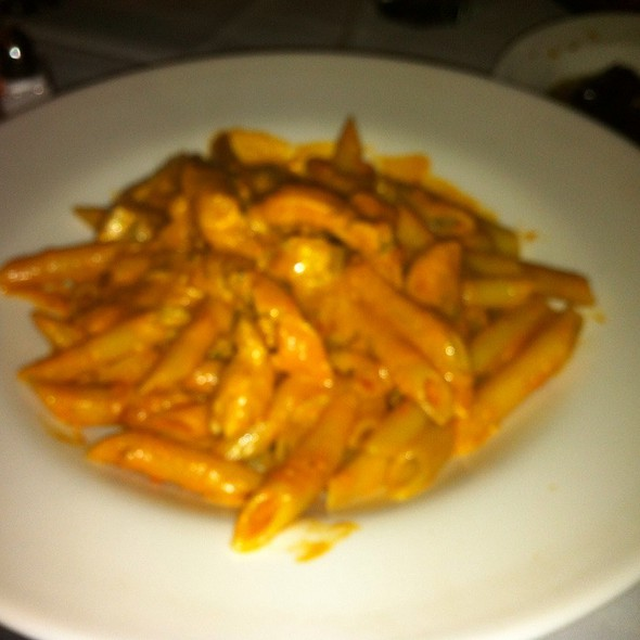 Penne A La Vodka W/ Chicken - Tosca Cafe, New York, NY