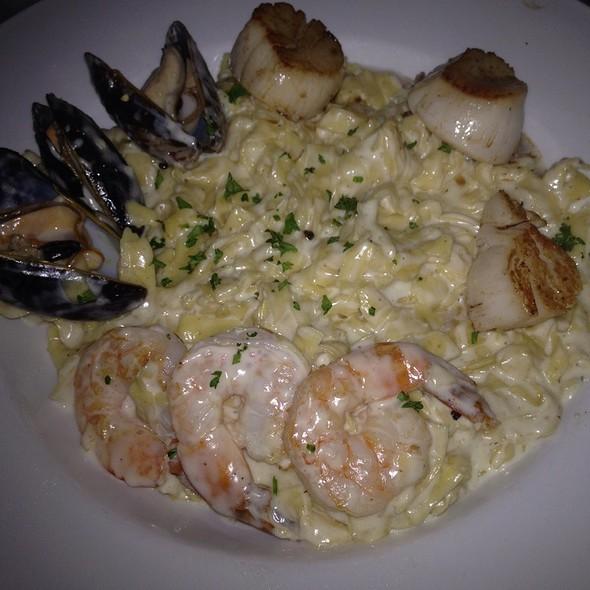 Seafood Tagliatelle - Fountain Bistro, Detroit, MI