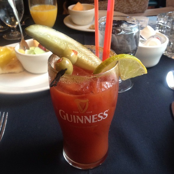 Bloody Mary - Charlie's Restaurant and Irish Pub at the Water Street Inn, Stillwater, MN